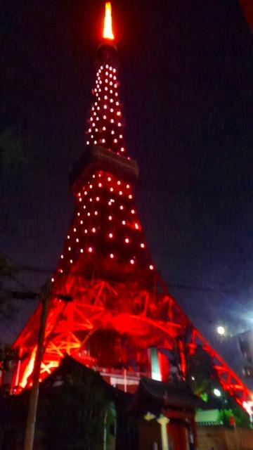 普段の東京タワー