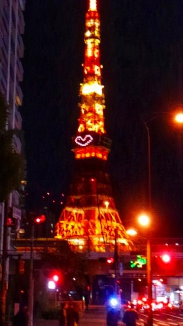 ハートの東京タワー