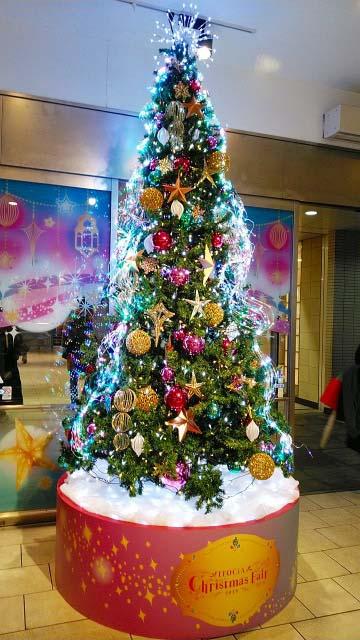 クリスマスツリー(有楽町マルイ)