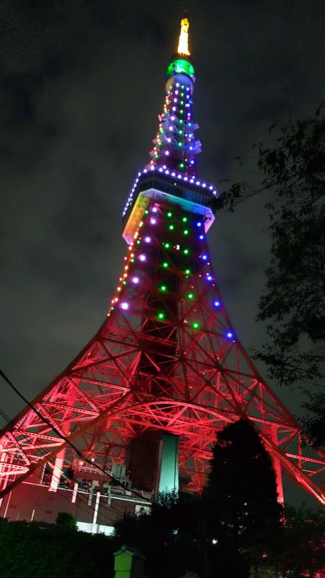 平成から令和に【天皇陛下の即位を祝う「東京タワー」】