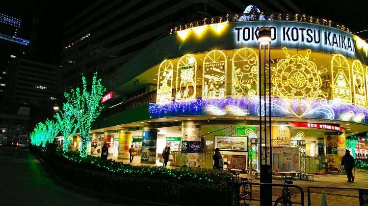 2月の東京のイルミネーション