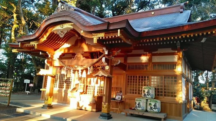 麻賀多神社、天之日津久神社(成田市)